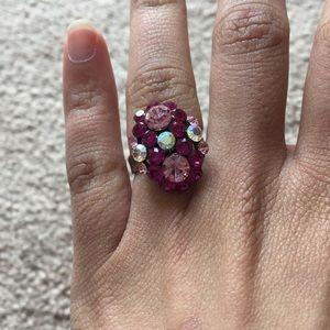 Jewelry - Pink jeweled ring